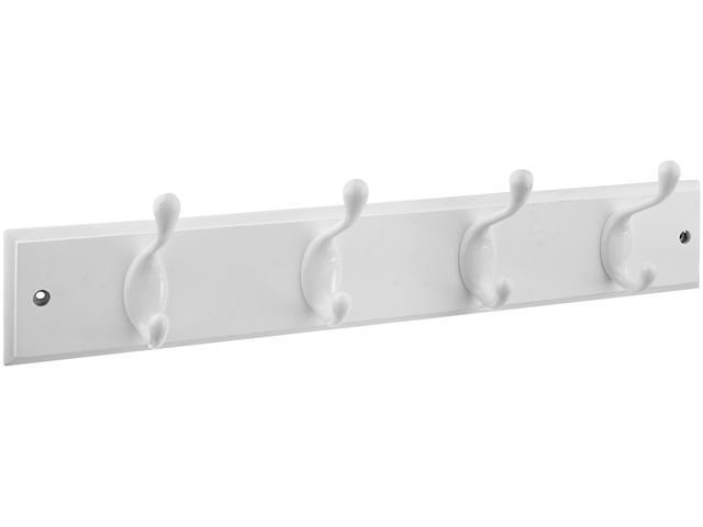 Stanley Hardware 813014 4 White Hooks On 18
