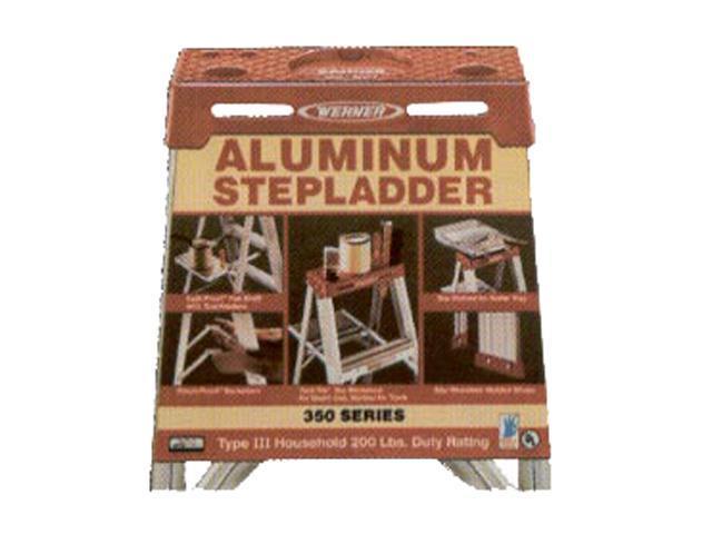 Werner 354 4' Aluminum Stepladder