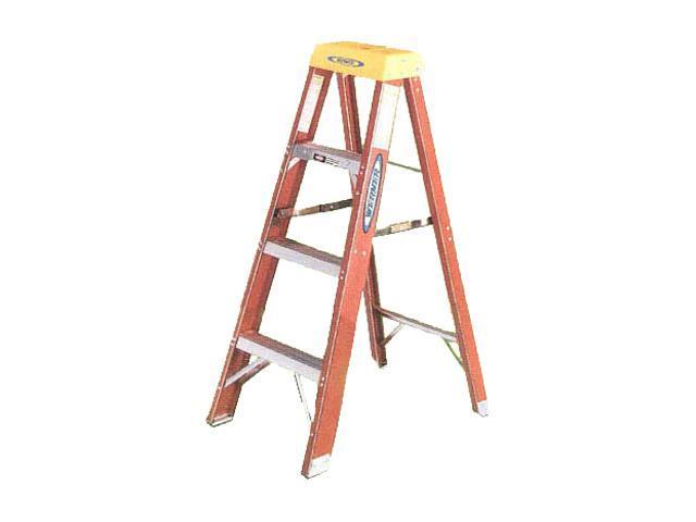 Werner 6204 4' Fiberglass Step Ladder