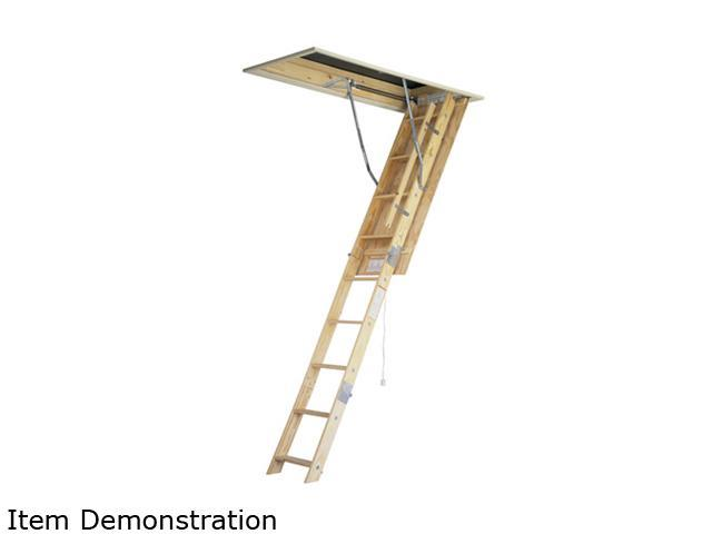 Werner W2208 8' Wood Attic-Master Ladder