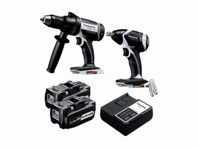 Panasonic EYC160LR 18V Hammer Drill Driver / Impact Wrench Combo