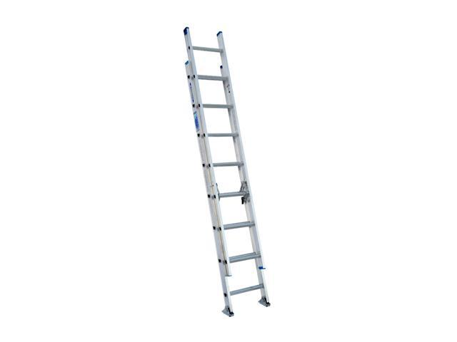 Werner D1316-2 16' Type I Aluminum D-Rung Extension Ladder