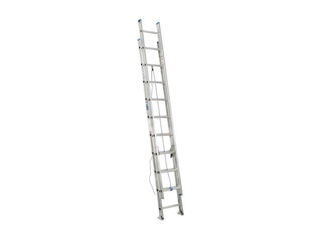 Werner D1320-2 20' Type I Aluminum D-Rung Extension Ladder