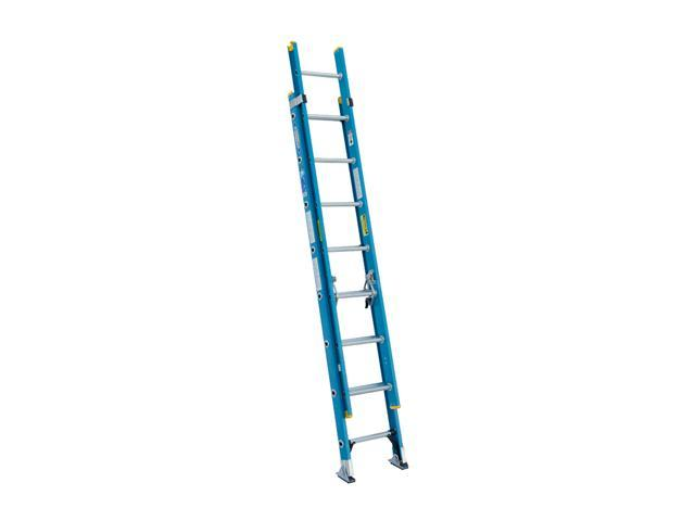 Werner D6016-2 16' Type I Fiberglass D-Rung Extension Ladder