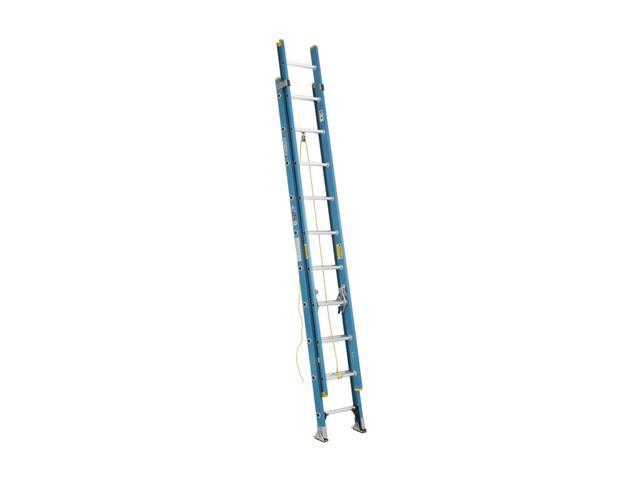 Werner D6020-2 20' Type I Fiberglass D-Rung Extension Ladder