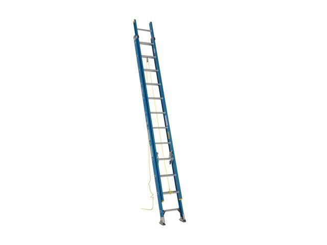 Werner D6024-2 24' Type I Fiberglass D-Rung Extension Ladder