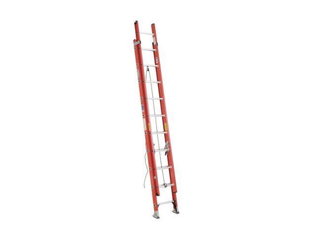 Werner D6220-2 20' Type IA Fiberglass D-Rung Extension Ladder