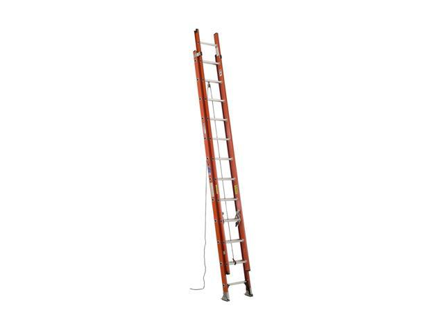 Werner D6224-2 24' Type IA Fiberglass D-Rung Extension Ladder