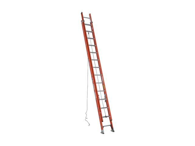 Werner D6228-2 28' Type IA Fiberglass D-Rung Extension Ladder