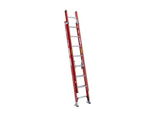 Werner D6216-2 16' Type IA Fiberglass D-Rung Extension Ladder