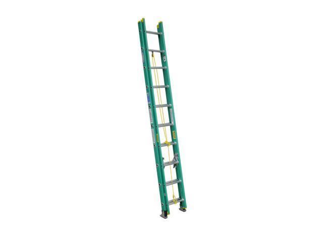 Werner D5920-2 20' Type II Fiberglass D-Rung Extension Ladder