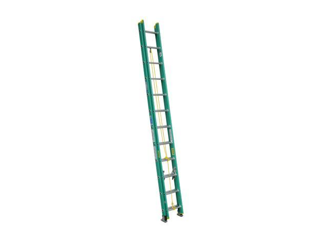 Werner D5924-2 24' Type II Fiberglass D-Rung Extension Ladder