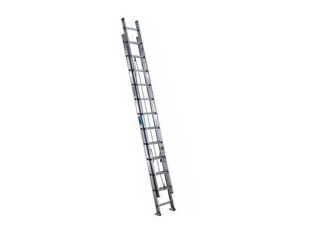 Werner D1224-2 24' Type II Aluminum D-Rung Extension Ladder