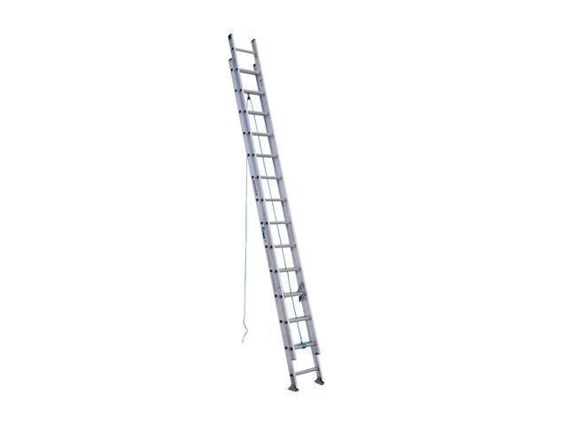Werner D1228-2 28' Type II Aluminum D-Rung Extension Ladder