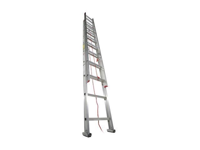Werner D1120-2 20' Type III Aluminum D-Rung Extension Ladder