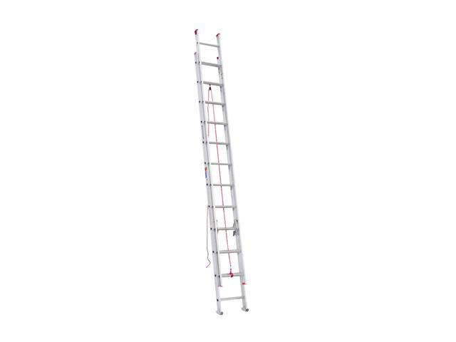 Werner D1124-2 24' Type III Aluminum D-Rung Extension Ladder