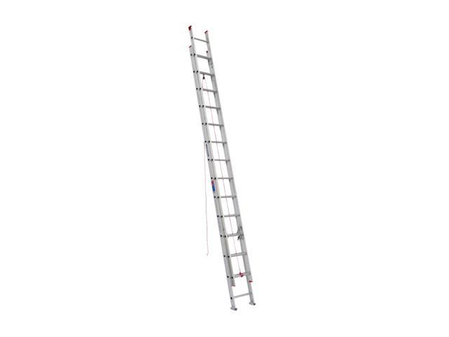 Werner D1128-2 28' Type III Aluminum D-Rung Extension Ladder