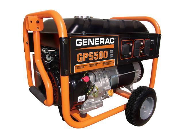Generac 5939 5500W Portable Generator