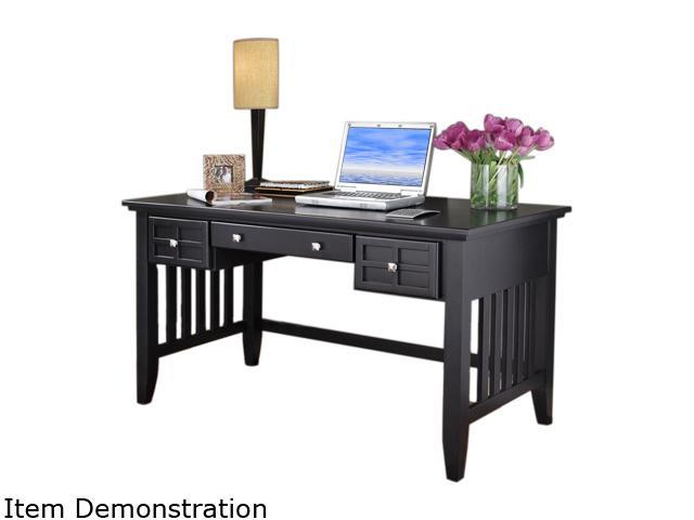 Home Styles 5181-15 Arts & Crafts Black Executive Desk