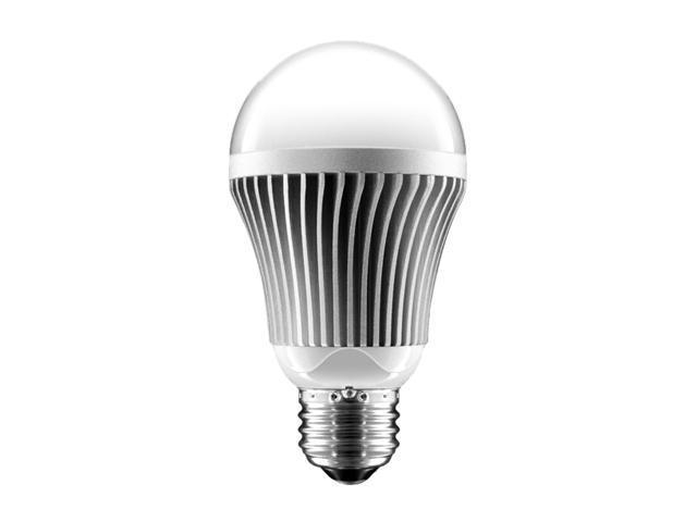 Aluratek ALB8W 60W Equivalent Warm White A19 LED Light Bulb