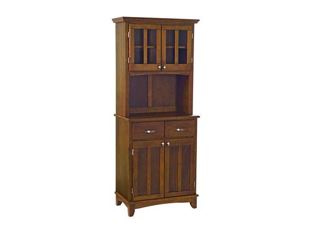 Home Styles 5001-0072-72 Medium Cherry Buffet Server and Hutch
