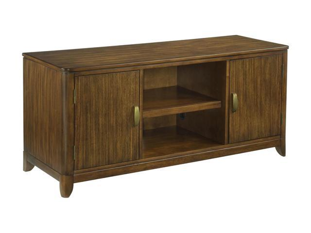 Home Styles Paris 5540-12 Transitional Paris Walnut TV Stand