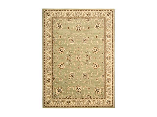 Shaw Living Arabesque Coventry Area Rug Pale Leaf 2' 3