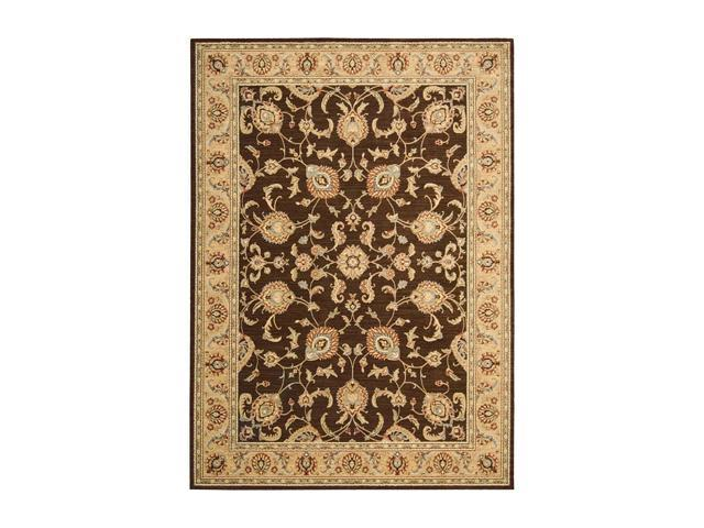 "Shaw Living Arabesque Coventry Area Rug Cocoa 2' 3"" x 8' 3K06600700"