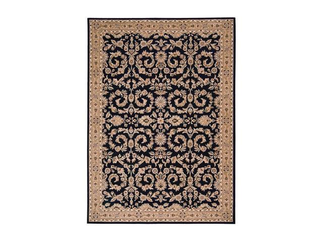 Shaw Living Arabesque Juliard Area Rug Cannon Black 2' 3