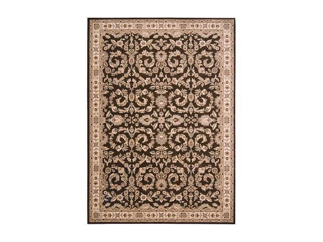 "Shaw Living Arabesque Juliard Area Rug Cocoa 2' 3"" x 8' 3K06603700"