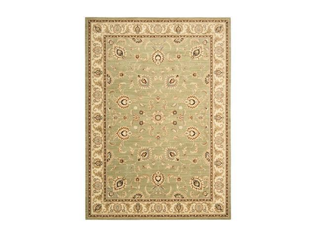Shaw Living Arabesque Coventry Area Rug Pale Leaf 9' 6