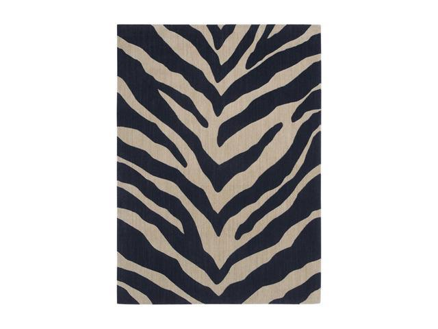 """Shaw Living Pacifica Blake Area Rug Cannon Black 2' 3"""" x 8' 3K08002500"""