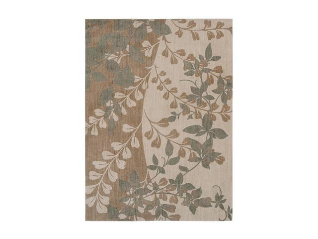 "Shaw Living Pacifica Flora Bella Area Rug Antique Gold 2' 3"" x 8' 3K08003200"