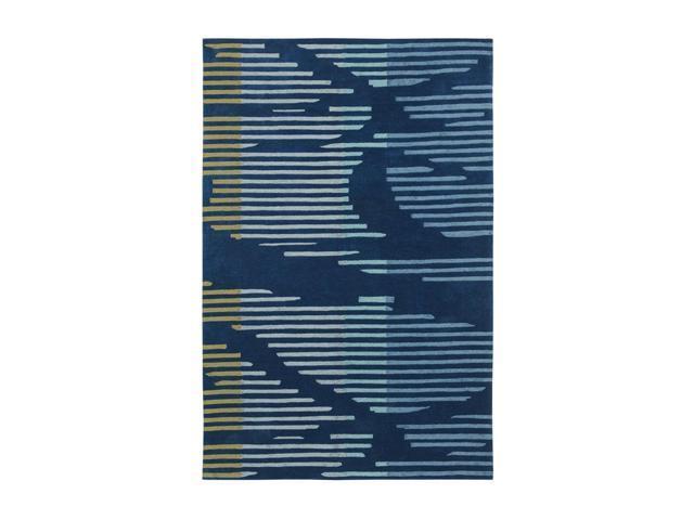 Shaw Living Loft Neo Area Rug Blue 5' x 7' 6