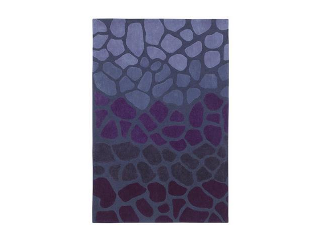 Shaw Living Loft Stone Walk Area Rug Purple 5' x 7' 6