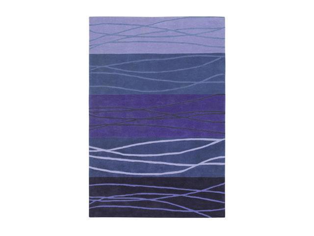 Shaw Living Loft Cadential Area Rug Purple 8' x 10' 3K09017900