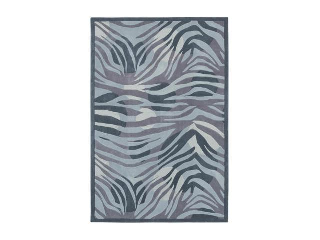 Shaw Living Loft Midnight Savanna Area Rug Grey 9' x 13' 3K09109510