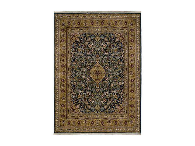 Shaw Living Jack Nicklaus Wynstone Area Rug Black 2' 6