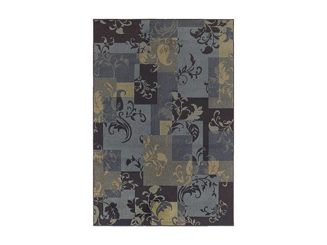 Shaw Living Concepts Idyll Area Rug Blue 3' 11
