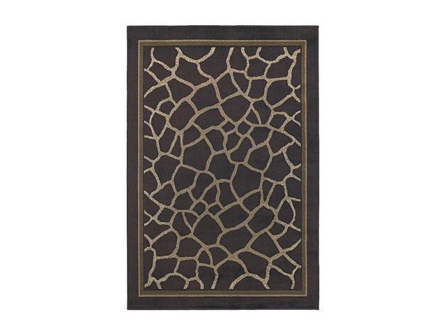 Shaw Living Concepts Giraffe Area Rug Brown 5' 3