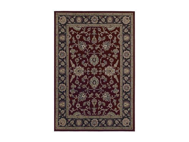 Shaw Living Concepts Red 5 39 3 X 7 39 10 3V73205800 Area Rug