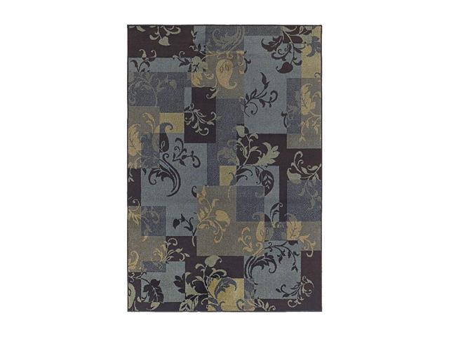 Shaw Living Concepts Idyll Area Rug Blue 7' 9