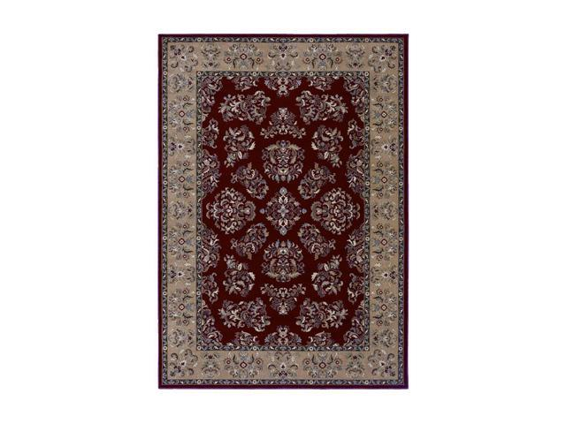 Shaw Living Inspired Design Alyssa Area Rug Red 2' 6