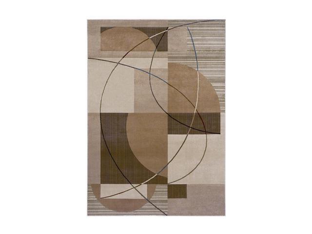 Shaw Living Inspired Design Mojo Area Rug Gold 2' 6