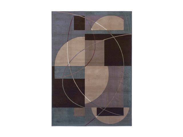 Shaw Living Inspired Design Mojo Area Rug Brown 2' 6