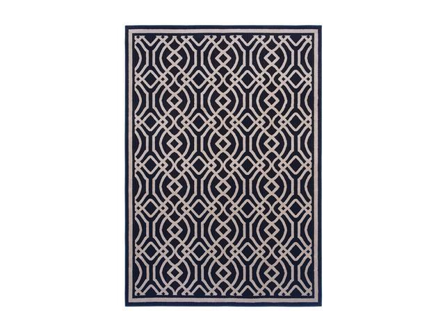 "Shaw Living Inspired Design Kingsley Area Rug Black 7' 8"" x 10' 10"" 3V81110500"