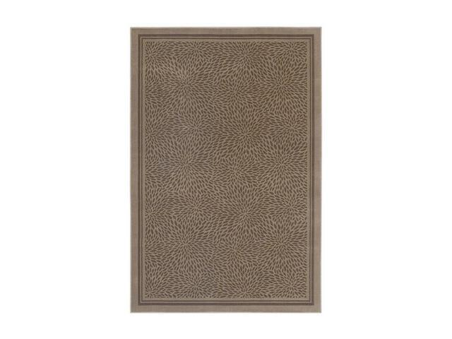 Shaw Living Woven Expressions Gold Zoe Area Rug Sand 5' 3