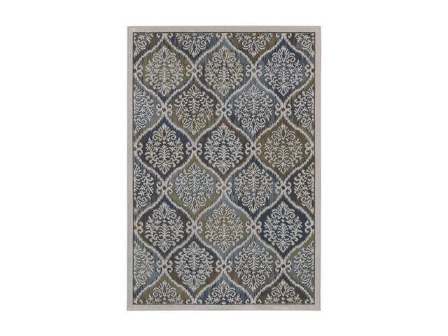 "Shaw Living Newport Kate Area Rug Light Multi 7' 10"" x 10' 9"" 3VD4808110"