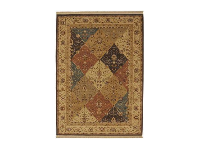 Shaw Living Kathy Ireland Home Essentials Diamantes Area Rug Light Multi 3' 10