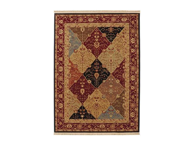 Shaw Living Kathy Ireland Home Essentials Diamantes Area Rug Multi 3' 10